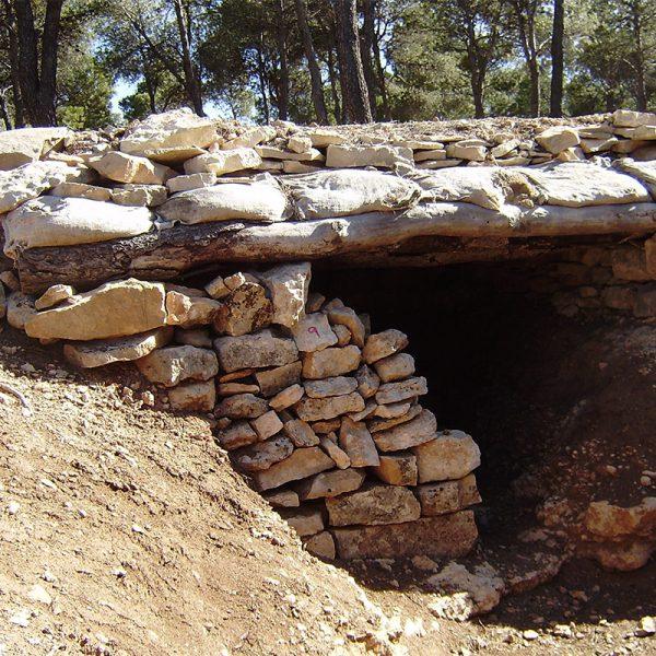 Trinxera Els Barrancs a Villalba dels Arcs