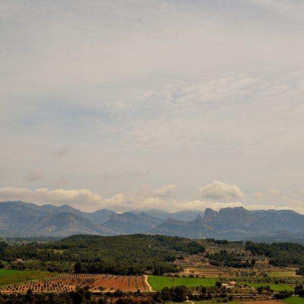 Vistas de las Rocas de Benet desde Lledó
