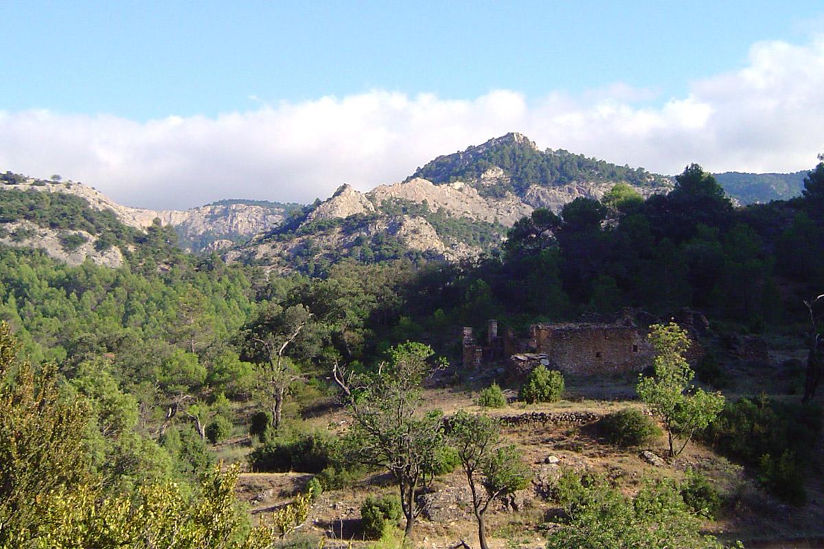 Excursión por Les Valls hacia el Toll del Vidre, en Arnes, Terra Alta