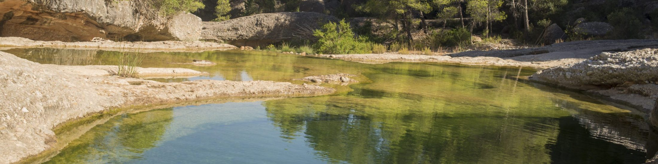 Zonas de baño en el Matarraña y la Terra Alta